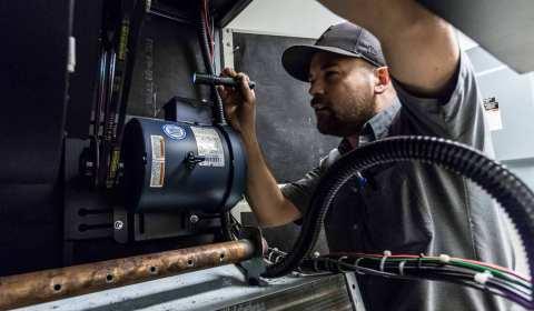 HVAC Maintenance Service Plan Call