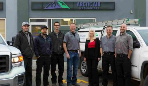 The team at Arctic Air Mechanical